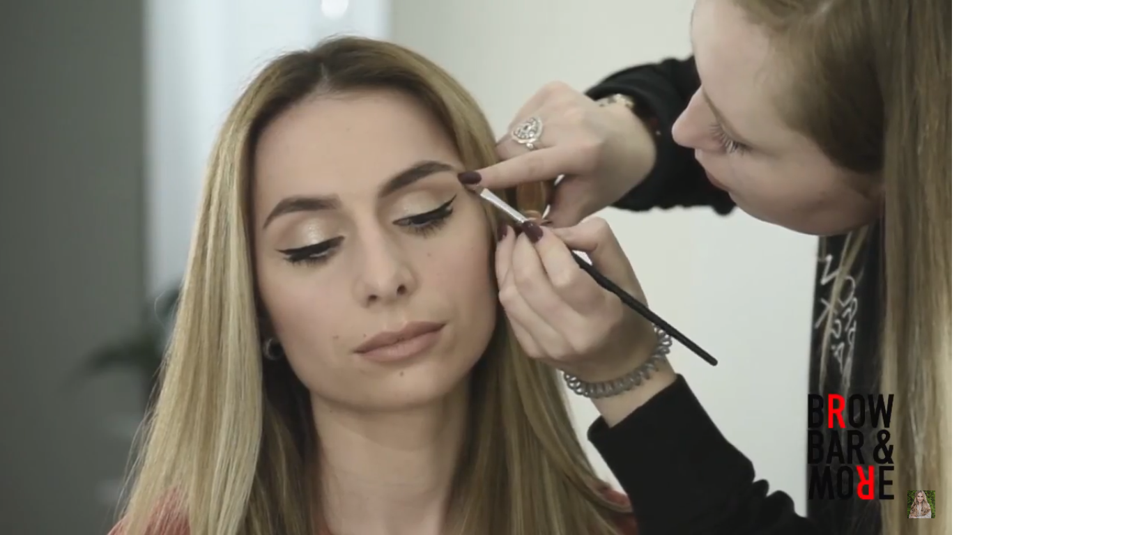 Română Tutorial Brow Bar And More Make Up De Zi Cu Eyeliner